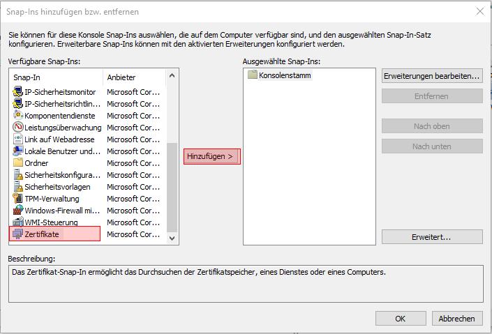 NAV Universal App Teil 1: SSL Zertifikat erstellen und einrichten ...